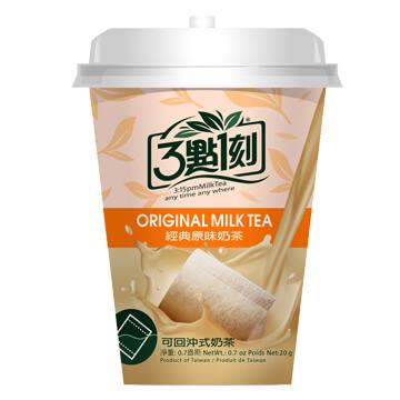 【3點1刻】經典原味奶茶杯 20g/杯