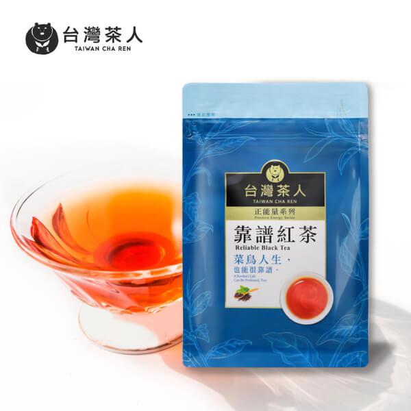【台灣茶人】辦公室正能量-靠譜紅茶 2g*25包