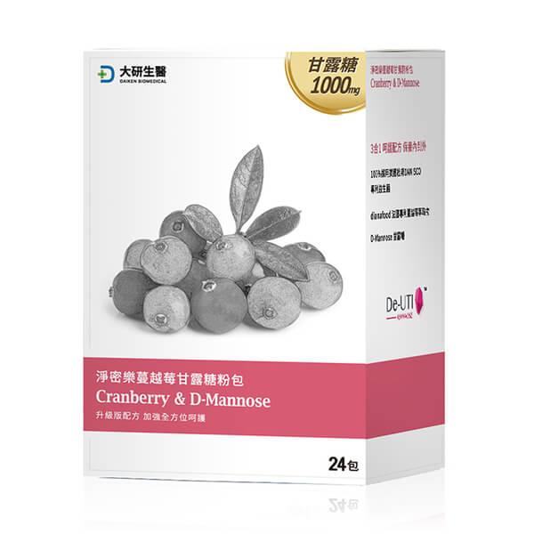 大研淨密樂蔓越莓甘露糖粉包(2g x 24包)