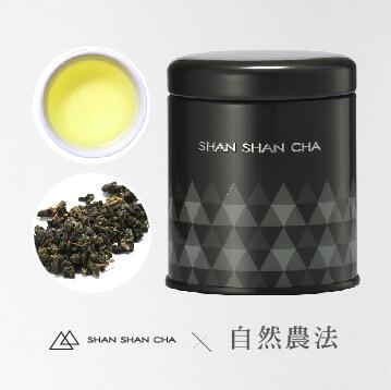 [山山來茶]自然農法 茶葉 金萱茶(37.5g/罐)