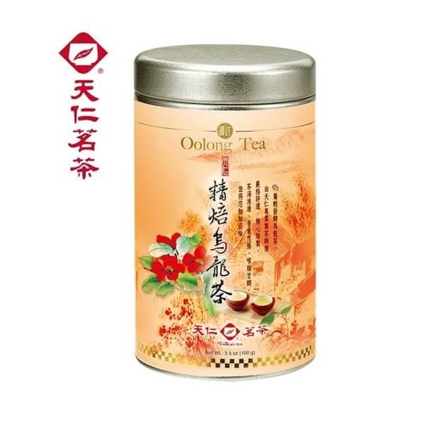 【天仁茗茶】精焙烏龍茶100g
