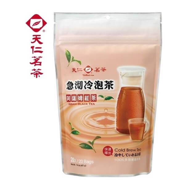 【天仁茗茶】急沏冷泡茶阿薩姆紅茶2gx20入
